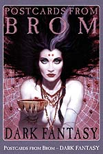 Postcards from Brom: Dark Fantasy cover